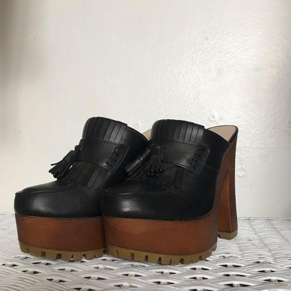 Shoes | Retro Platform Heelsclogs